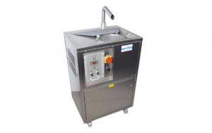 Choklad- tempereringsmaskinen 40 kg.